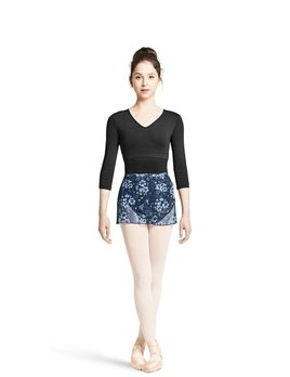 Mirella Mirella Floral Mesh Skirt MS105