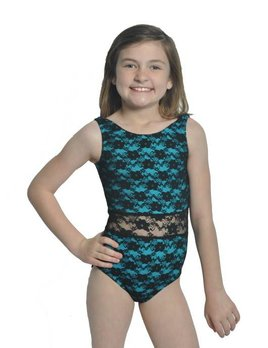 BP Designs Youth Lace Over Lace Leo 73111