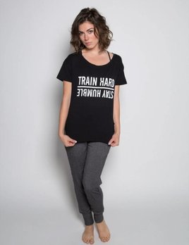 Sugar and Bruno Sugar and Bruno Train Hard Upscale Tee D7988
