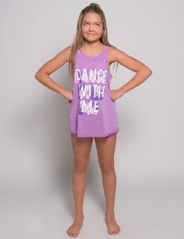 Sugar and Bruno Sugar and Bruno Dance With Me Youth One Size Tank D8021