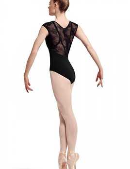 Bloch Bloch Lace and Ribbon Cap Sleeve Leo L7714