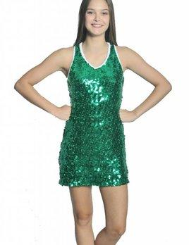 BP Designs BP Designs V Neck Sideline Dress 89302