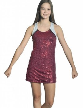 BP Designs BP Designs Scoop Neck Sideline Dress 89303