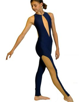 BP Designs BP Designs High Neck Teardrop Unitard 76316