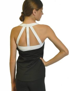 BP Designs BP Designs Three Strap Drape Back Top 84316