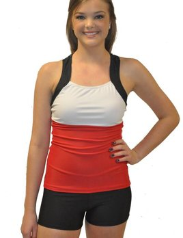 BP Designs BP Designs Three Color T Back Ashley Top 84303