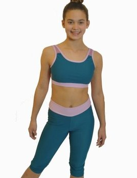 BP Designs Two Tone Girls  Capri by BP Designs 74318 - CO