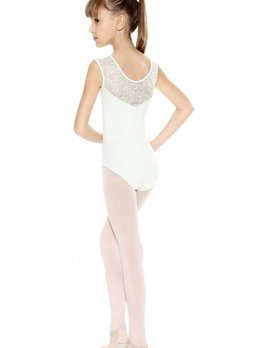 So Danca So Danca Cozy Rosie Lace Upper Wide Tank Leotard L-573