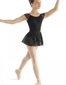 Mirella Mirella Ombre Sequin Tulle Skirt MS119C