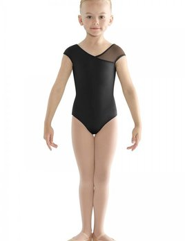 Bloch Bloch Asymmetric Cap Sleeve Leotard CL9502S
