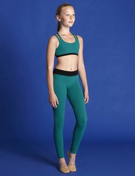 Bloch Bloch Textured Full Length Legging BM235P