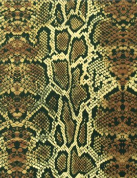 SPANDEX HOUSE Stretch Snake Printed Fabric