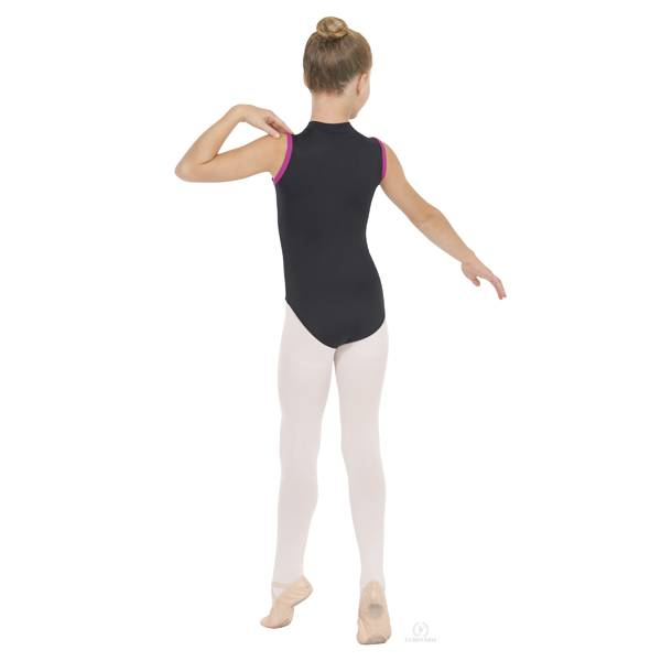 EUROTARD Eurotard Youth Zip Front Leotard 44518C
