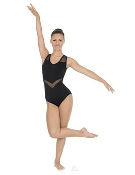 EUROTARD Eurotard Adult Arrow Mesh Tank Leotard 59898
