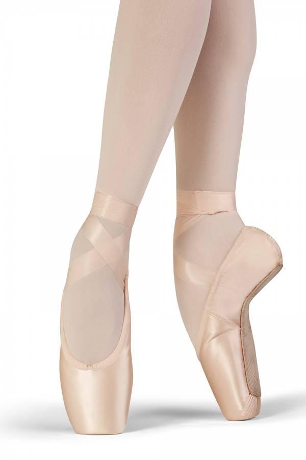 bloch grace pointe shoe s0161l black and pink dance
