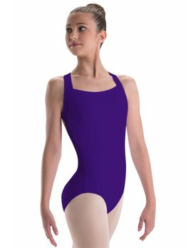 Motionwear Motionwear X-Back Wide Strap Leotard Youth 2032
