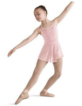 Bloch Bloch Scoop Back Mesh Skirted Leotard CL5717