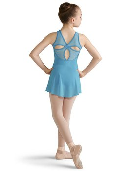 Bloch Bloch Bow Mesh Skirted Tank Leotard CL8222