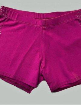 Motionwear Motionwear Rhinestone Shorts 7025 (Adult)