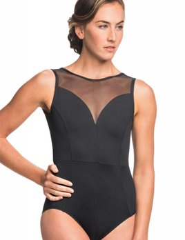 Ainslie Wear AinslieWear Bianca with Mesh Leotard 1039ME