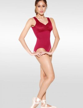 So Danca So Danca Floral Lace Pinch Front Leotard RDE-1773