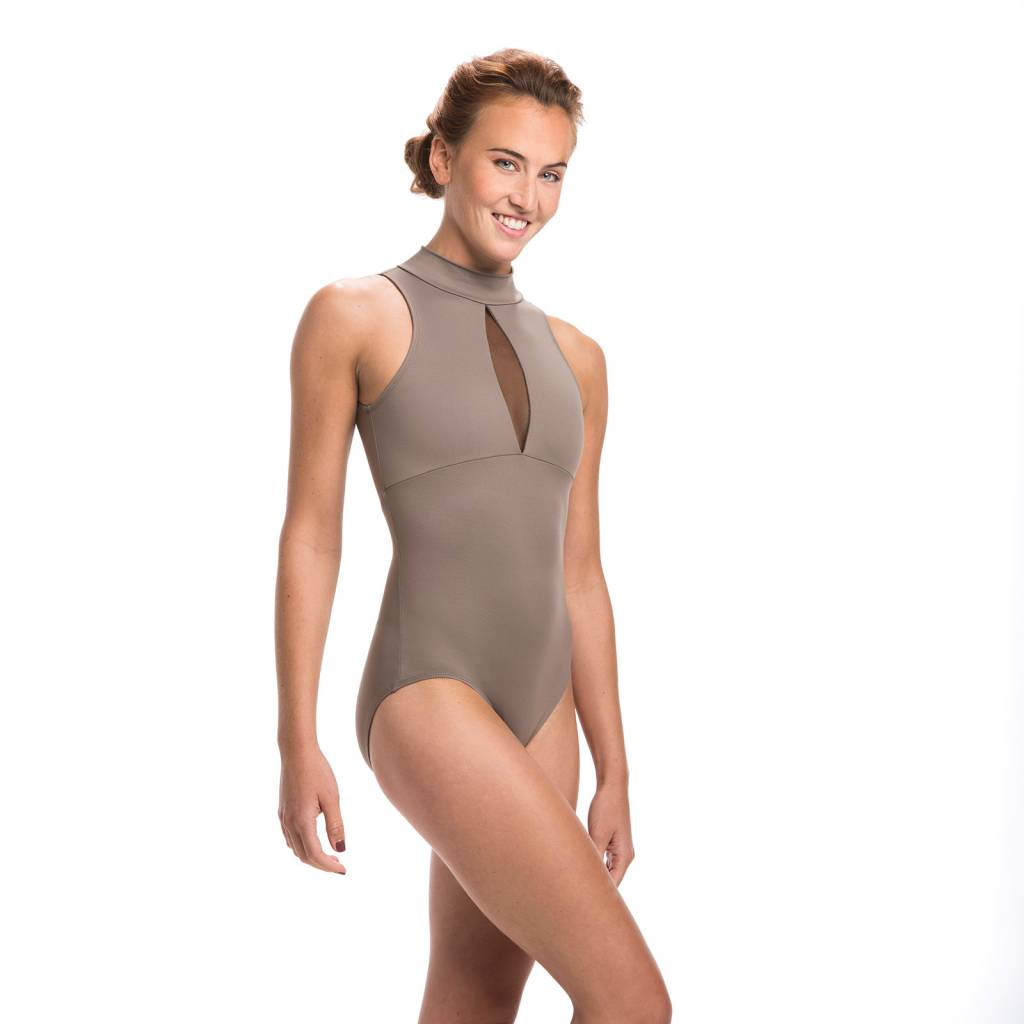 Ainslie Wear AinslieWear Eve Leotard with Mesh 147ME