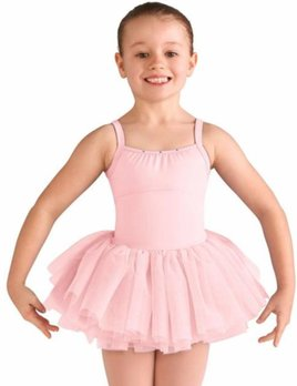 Bloch Bloch Diamond Heart Flock Meshed Tutu Leotard CL9565