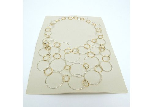 Cascading Circles Necklace