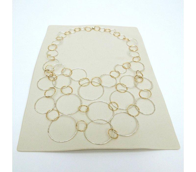 Cascading Circles Necklace