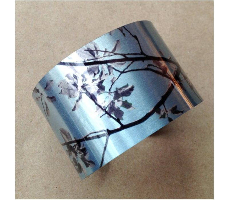 Blue Orchid Cuff