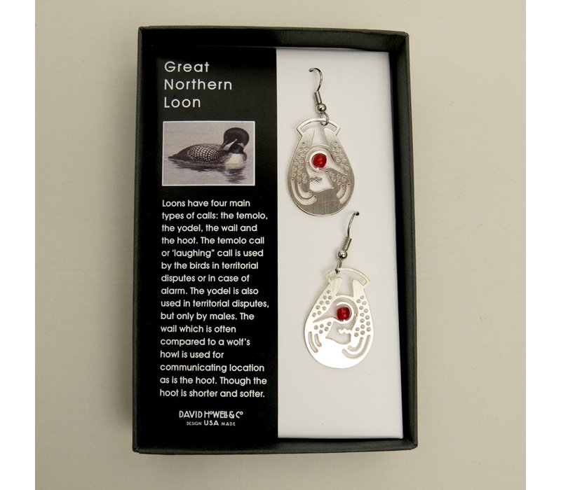 Great Northern Loon Earrings