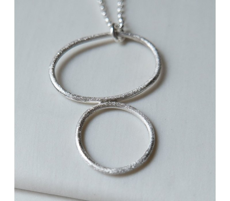 Organic Hoops Necklace