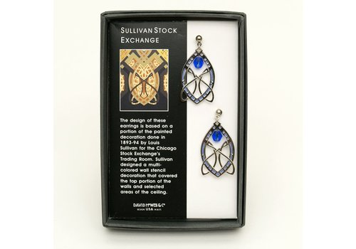 Sullivan Stock Silver Earrings