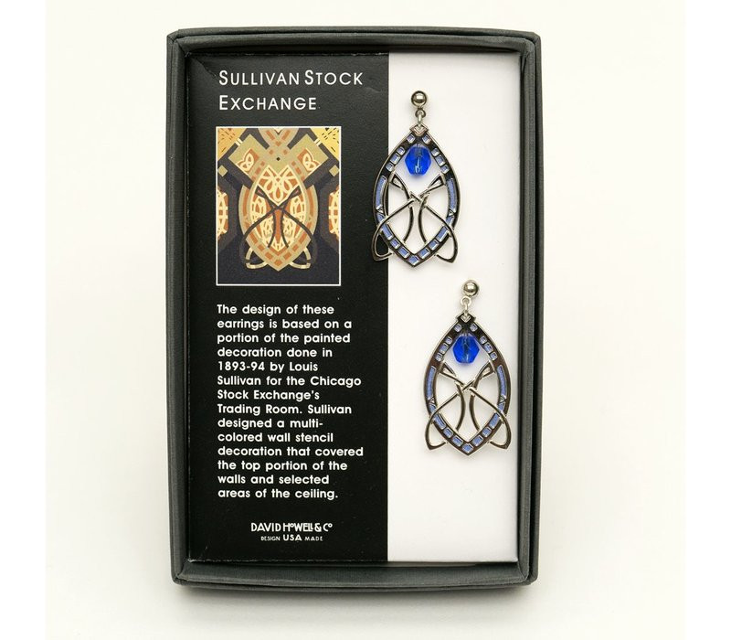 Sullivan Stock Silver Earrings