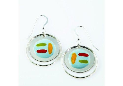 Circle Ring Drop Calder Earrings