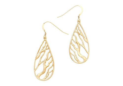 Branches Teardrop Earrings