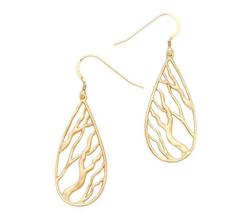 Branches Teardrop Earrings