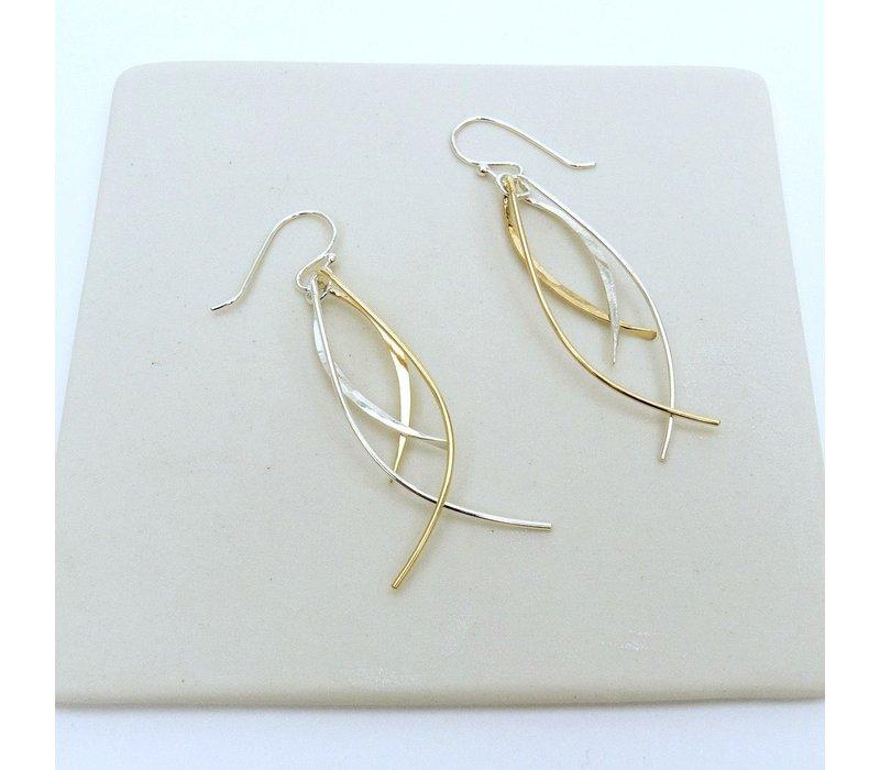 Double Fish Earrings