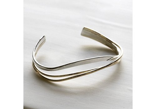 Sterling Silver and Gold Fill Bracelet