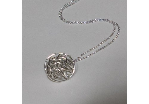 Silver Tumbleweed Necklace