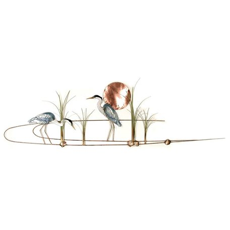Large Blue Herons in Grasses