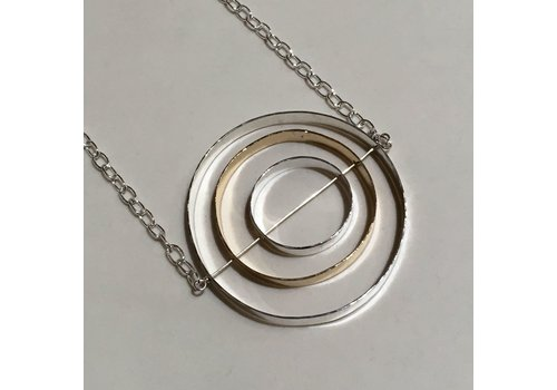 Circles in Circles Necklace