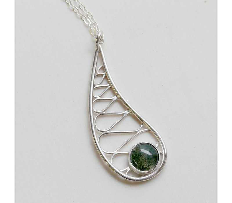 diamond pendant teardrop necklace