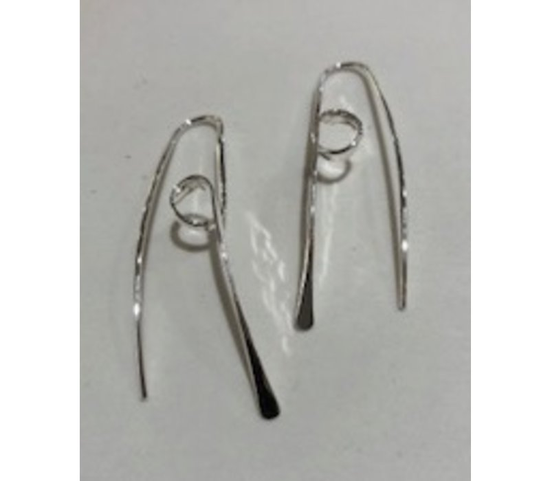 Reverse Curl Earrings