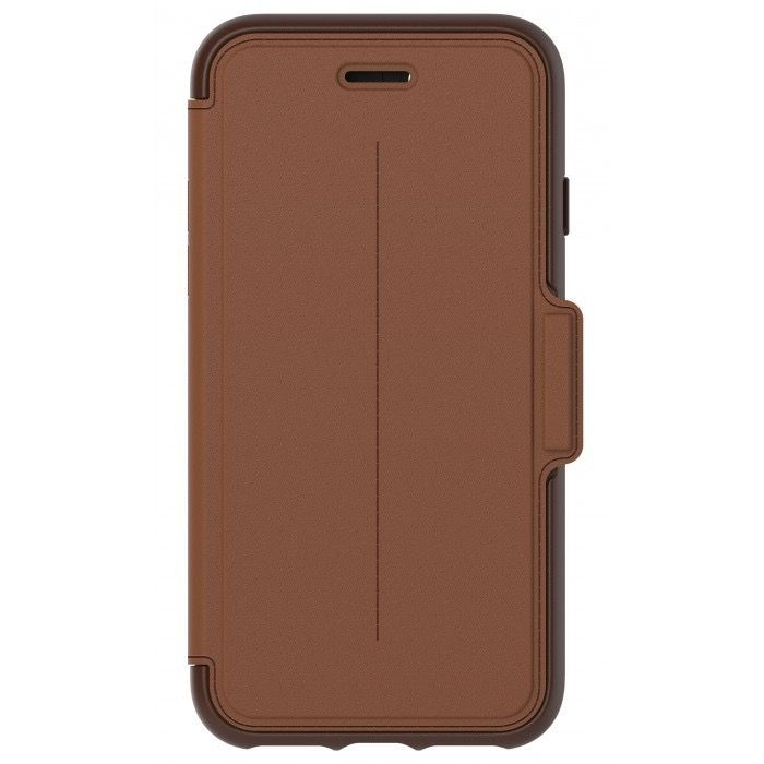 Strada Folio for iPhone 7 (Brown/Tan)