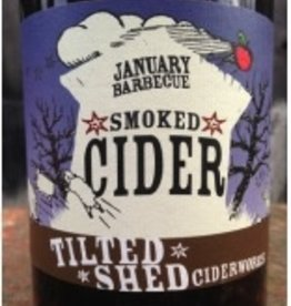 Organic Tilted Shed January Barbeque Smoked Cider