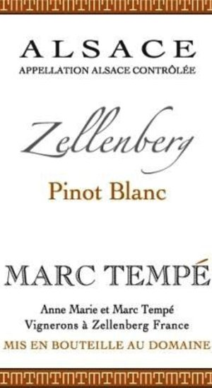Biodynamic & Natural Marc Tempe Pinot Blanc 11