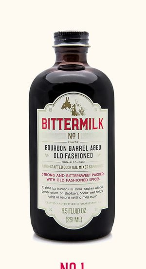 Bittermilk No.1 Bourbon Barrel Old Fashioned