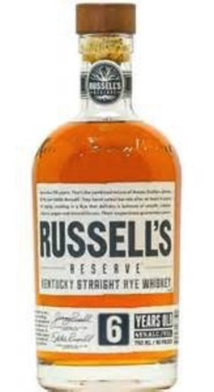 Russell's Reserve Rye 6 Year Old