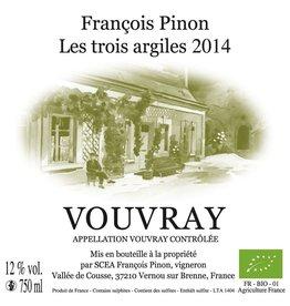 Biodynamic & Natural Francois Pinon Vouvray Les Trois Argiles 15